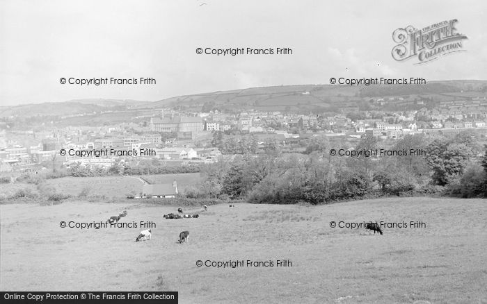 Photo of Carmarthen, General View 1962