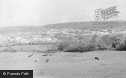 Carmarthen, General View 1962