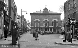 Carmarthen, Guildhall And Square 1949