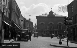 Carmarthen, Guildhall Square 1949