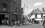 Carmarthen, Guildhall Square 1949