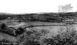 Carmarthen, Horse Shoe Bend, River Towy 1962
