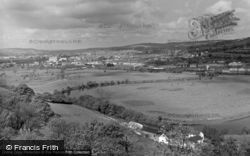 Horseshoe Bend, The River Towy 1962, Carmarthen