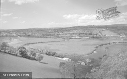 Carmarthen, Horseshoe Bend, The River Towy 1962