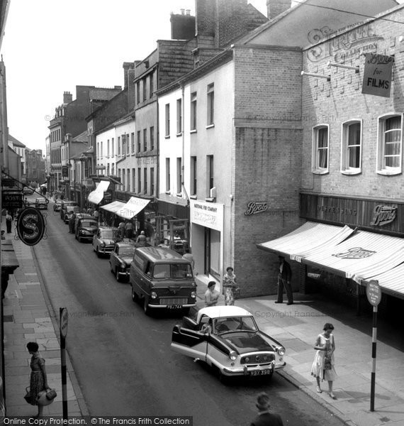 Photo of Carmarthen, King Street 1959