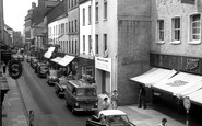 Carmarthen, King Street 1959