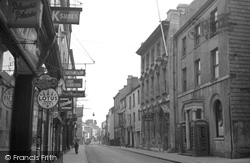 Carmarthen, King Street c.1950