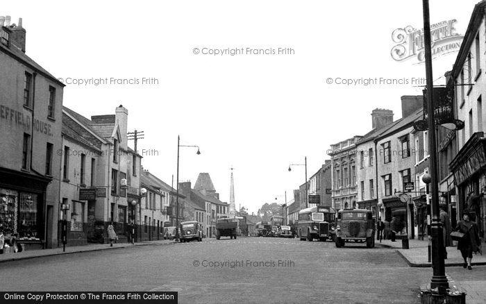 Photo of Carmarthen, Lammas Street 1949