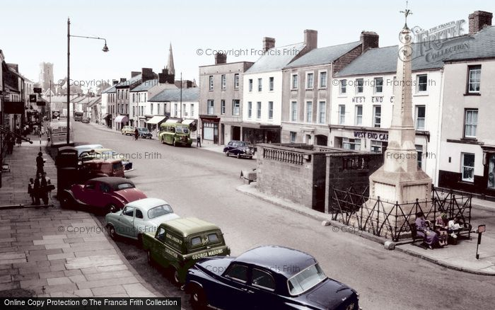Photo of Carmarthen, Lammas Street 1959