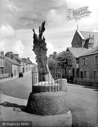 Carmarthen, Merlin's Oak 1936