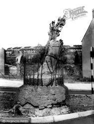 Carmarthen, Merlin's Oak 1962