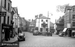 Carmarthen, Nott's Square 1949