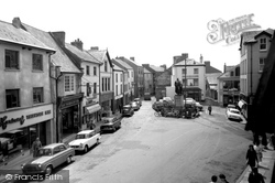 Carmarthen, Nott Square 1962