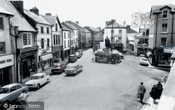 Carmarthen, Notts Square c.1965