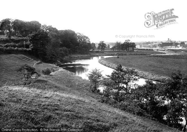 Carmarthen, on the River 1890