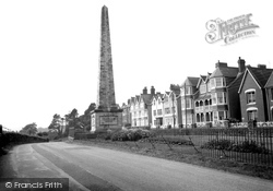 Carmarthen, Picton Monument 1959