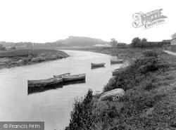 Carmarthen, River Towy 1933