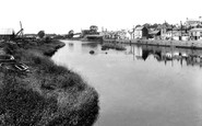 Carmarthen, River Towy From Bridge 1910