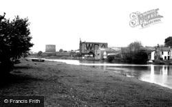 Carmarthen, Riverside Walk 1949