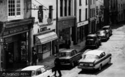 Carmarthen, Shops In Nott Square 1962