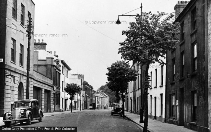 Photo of Carmarthen, Spilman Street 1949