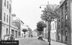 Carmarthen, Spilman Street 1949