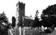 Carmarthen, St David's Church 1910