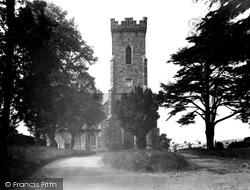 Carmarthen, St David's Church 1949