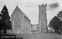 St David's Church 1949, Carmarthen