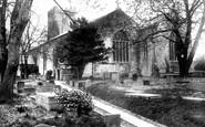 Carmarthen, St Peter's Church 1898