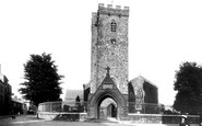 Carmarthen, St Peter's Church 1910