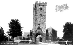 Carmarthen, St Peter's Church 1910