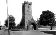 Carmarthen, St Peter's Church 1925