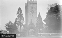 Carmarthen, St Peter's Church 1949