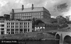 The Bridge And Municipal Buildings 1950, Carmarthen