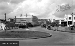 Carmarthen, The Bridge And Municipal Buildings 1950