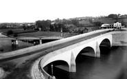 Carmarthen, The Bridge c.1950