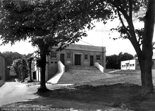 Photo of Carmarthen, The Broadcast Hall, Trinity College c.1950