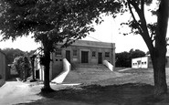 Carmarthen, The Broadcast Hall, Trinity College c.1950
