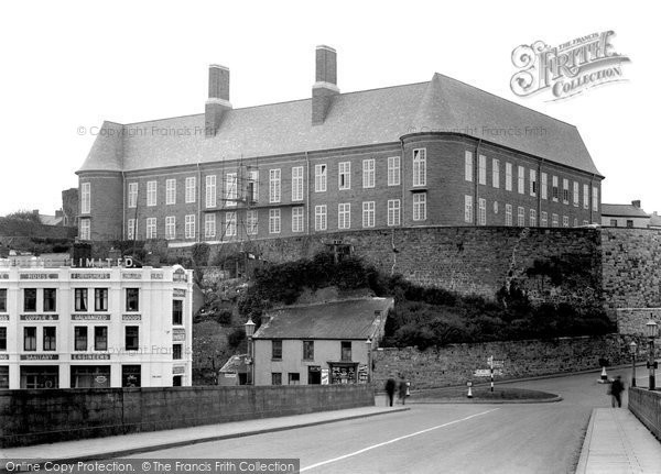 Photo of Carmarthen, The County Council Offices 1949
