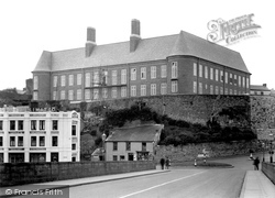 Carmarthen, The County Council Offices 1949