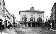 Carmarthen, The Guildhall 1893