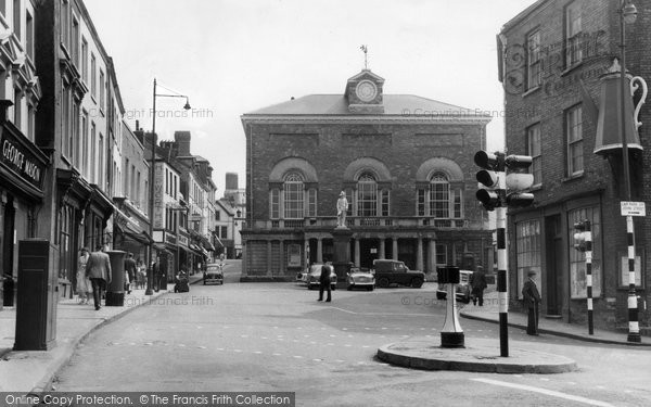 Photo of Carmarthen, The Guildhall 1959