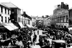 Carmarthen, The Horse Fair c.1940