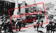 Carmarthen, the Horse Fair c1950