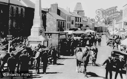 Carmarthen, The Horse Fair c.1950