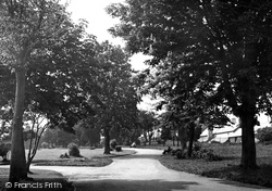 Carmarthen, The Park 1949