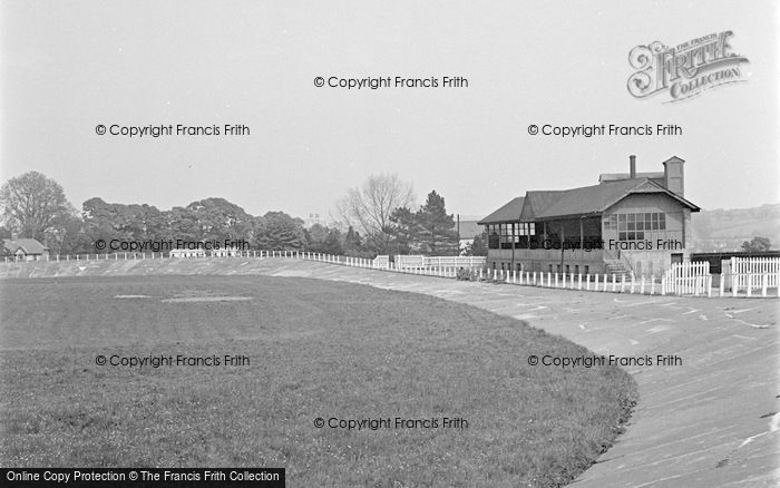 Photo of Carmarthen, The Park Cycle Track 1949