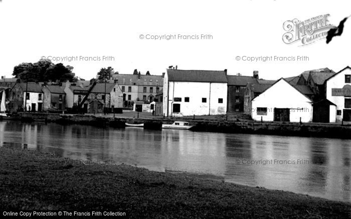 Photo of Carmarthen, The River Towy 1949