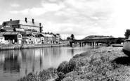 Carmarthen, The Riverside 1962